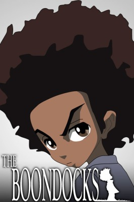 Huey Freeman is a character in ÒThe Boondocks,Ó premiering Sunday on Cartoon Network.
